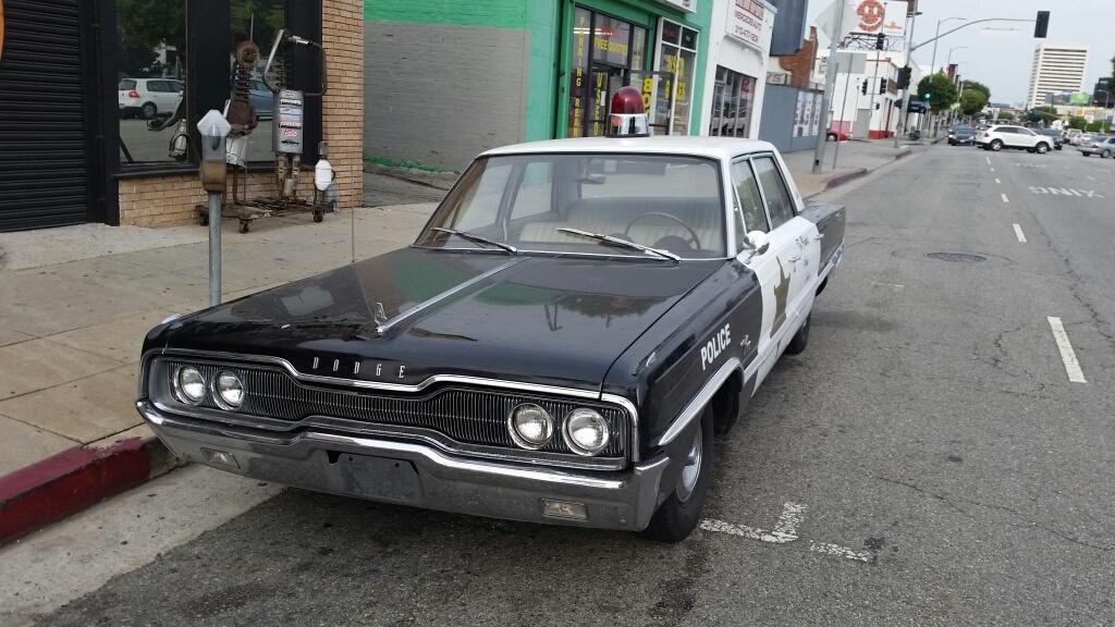 detroit police car three