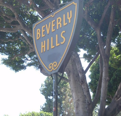 The Beverly Hills City Sign is one of the most photographed signs in the world.